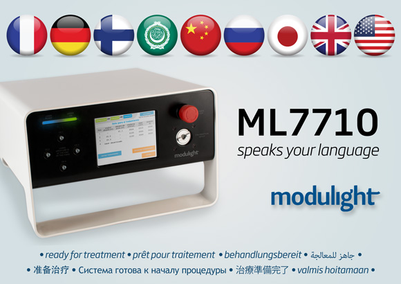 Modulight ML7710 speaks your language