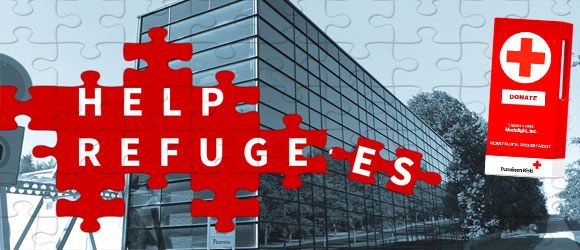 Participate in helping refugees