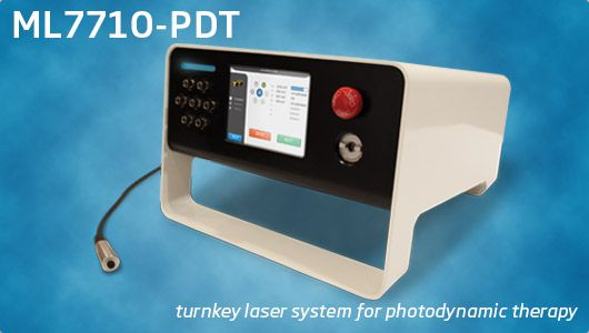 Ml7710 Turnkey Oncology Laser System For Photodynamic