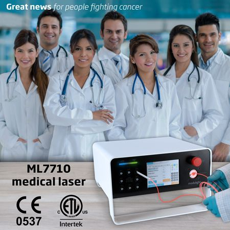 Modulight launches the world's first multi indication CE and ETL certified medical laser