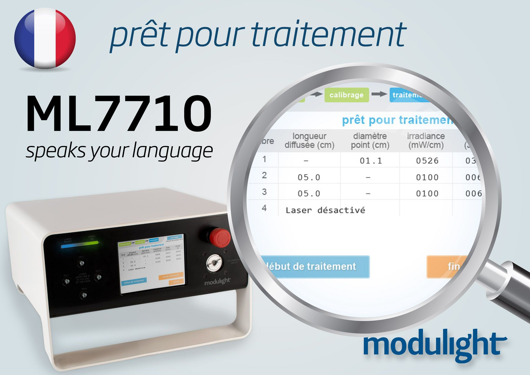 User interface now available in French!
