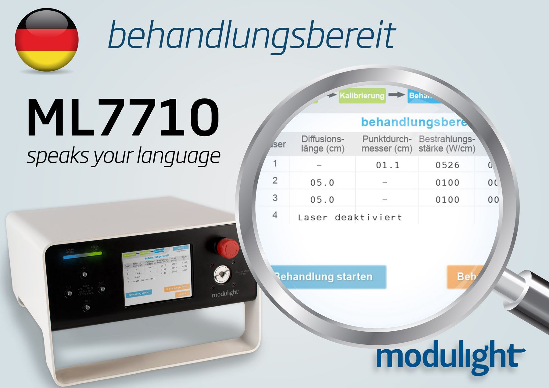 User interface now available in German!
