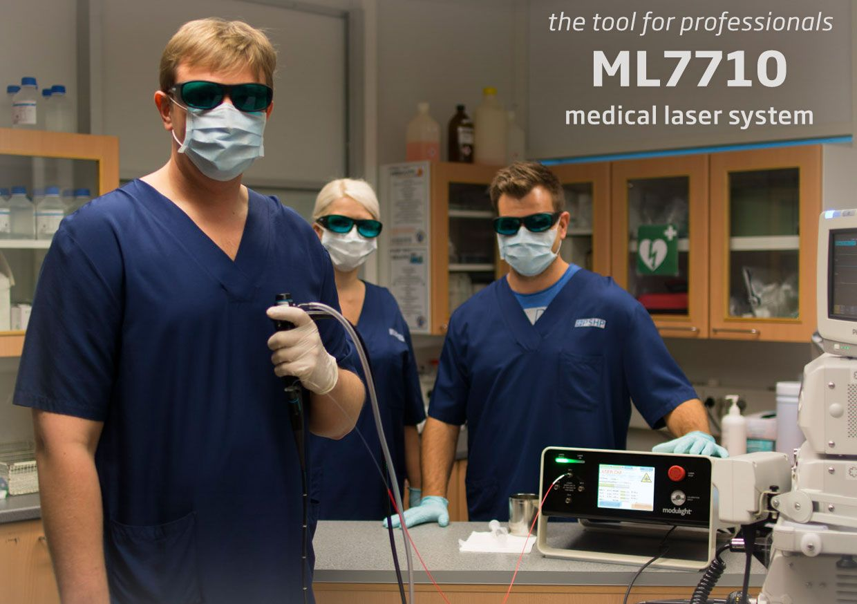 ML7710 medical laser system - the tool for professionals