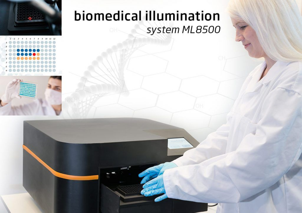 biomedical illumination system ML8500 by Modulight