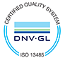 Quality certificate ISO-13485
