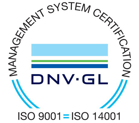 Quality certificates ISO-9001 and ISO-14001