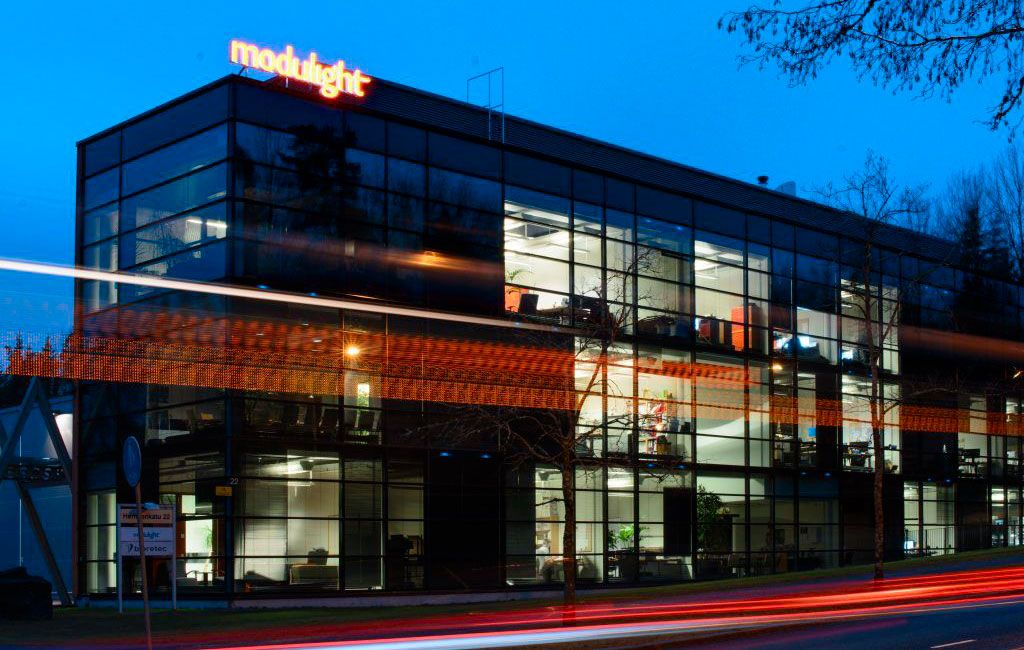 Contact us - Modulight offices & info