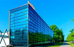 Modulight Company Headquarters in Summer